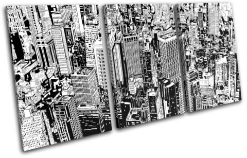 Cityscape Abstract Illustration - 13-0462(00B)-TR21-LO